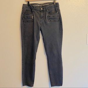 Articles of Society Maya Moto Skinny Jean 30